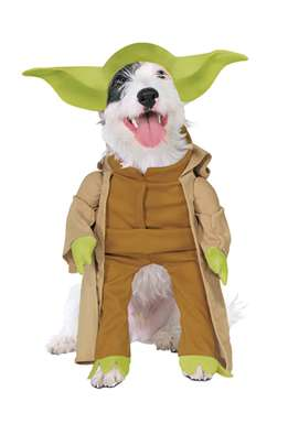 Yoda Dog Halloween Costume - Star Wars