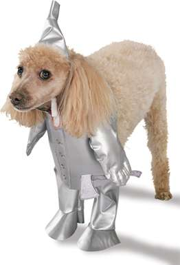 Tinman Dog Costume - Wizard of Oz